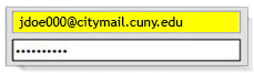 Citymail-Login with full email address